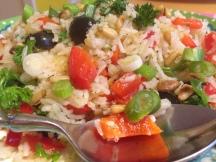 Mediterraanse gebakken rijst van Foodie Fredi