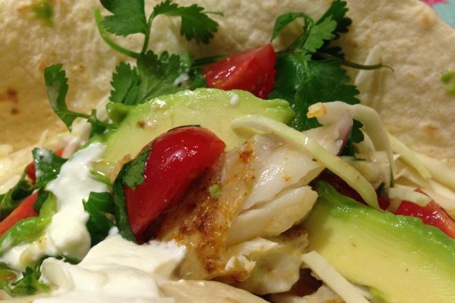 Mexicaanse taco met vis van Foodie Fredi