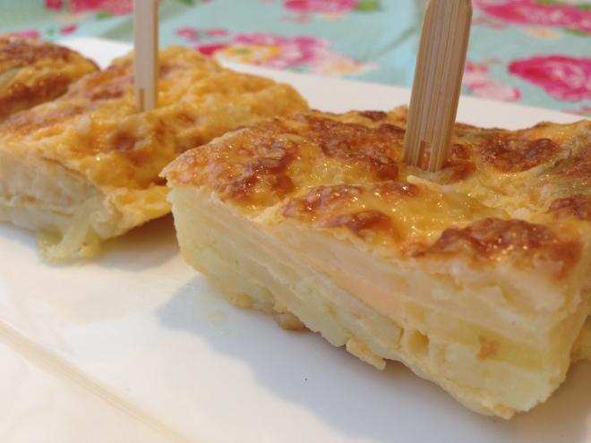 Spaanse aardappeltortilla van Foodie Fredi
