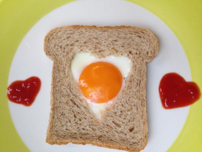 Ontbijtje op Valentijnsdag